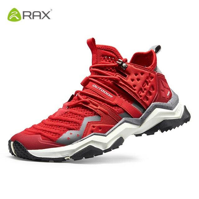 Rax mulher caminhadas sapatos de pouco peso 2019 primavera novo modelo esportes ao ar livre tênis para mulher sapatos de caminhada montanha femaletrekking