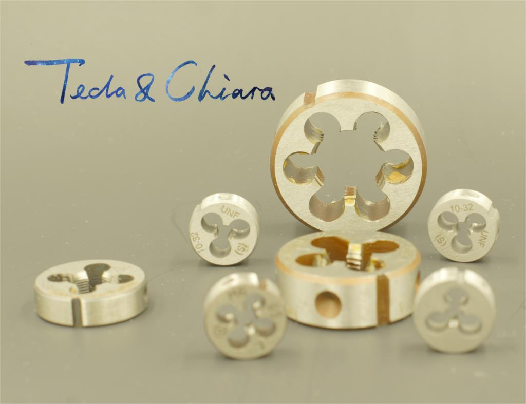 1Pc 1/2-18 1/2-20 1/2-24 1/2-27 UNS UNF Right Hand Die Threading Tools For Mold Machining 1/2