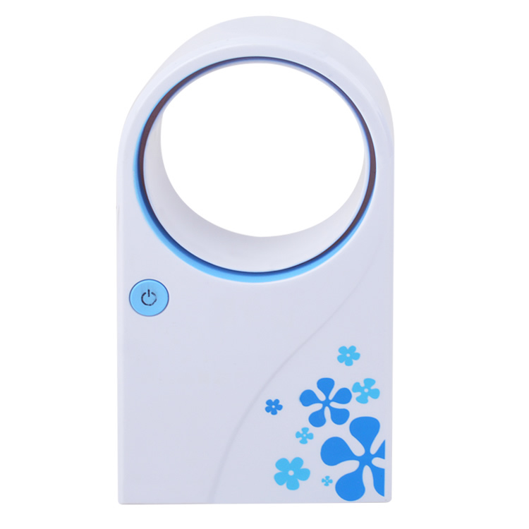Portable USB No Leaf Fan Mini Bladeless Refrigeration Desktop Air Conditioner 1