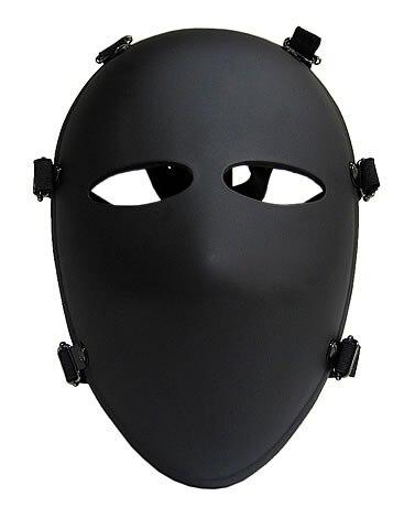 Militaire 6 Point Pare-balles Masque Masque Complet NIJ IIIA.44 Masque Balistique