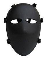 Military 6 Point Bulletproof Full Face Mask NIJ IIIA 44 Ballistic Mask