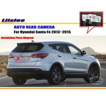 현대 산타페 용 자동차 후면보기 카메라 2013 2014 2015 역방향 주차 백업 캠 HD CCD RCA NTST PAL