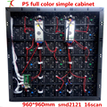 960*960 мм 16 сканирования P5 HD smd2121 полноцветные простой кабинет дисплей/40000 dots/m2