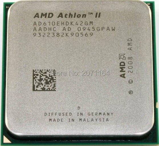 Новый без коробки упаковки Для AMD Athlon четырехъядерные процессоры X4 610E листов с низким энергопотреблением ПРОЦЕССОРА 2.4 Г 45 Вт