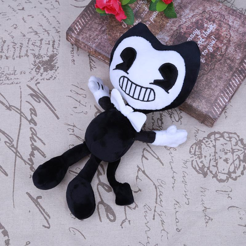 Kawaii Baby Plush Doll Toy Bendy and The Ink Machine Bendy Cartoon Plush Stuffed Doll Toys Gift for Kids Child Soft Bendy Dolls cute 45cm stuffed soft plush penguin toys stuffed animals doll soft sleep pillow cushion for gift birthady party gift baby toy
