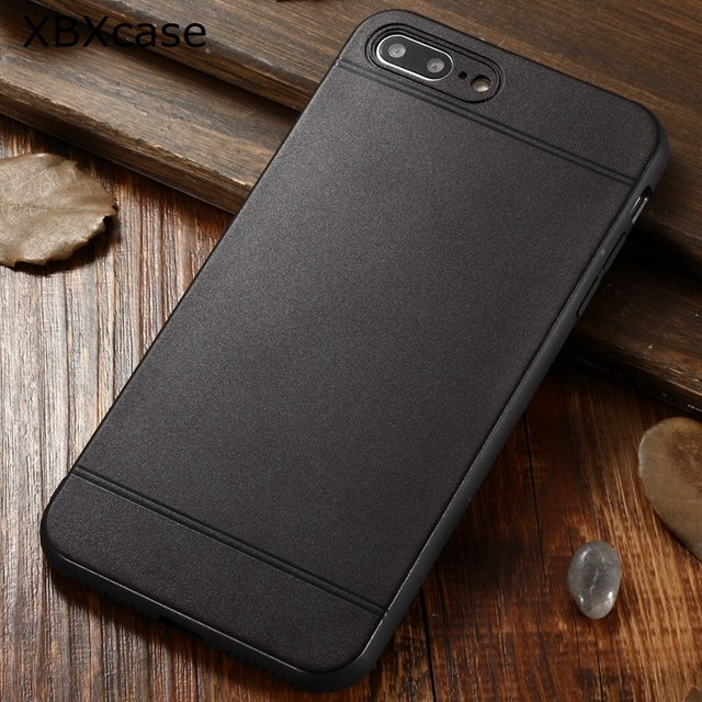 quality design e1457 65aef US $2.39 20% OFF|XBXCase Black Matte TPU Rubber Case for iPhone X Xs MaX XR  7 8 Plus Cartoon Soft Case for iPhone 6 6S Plus Protection Back Cover-in ...
