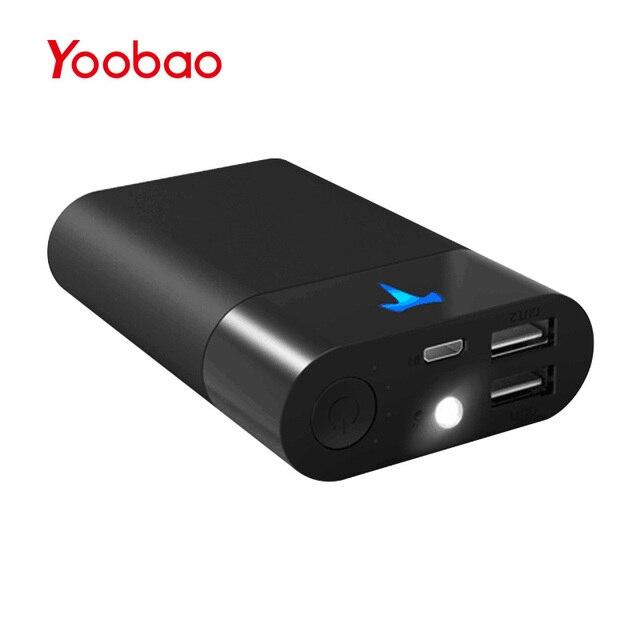 Yoobao 10000 мАч запасные аккумуляторы для телефонов для Xiaomi mi Tesla батарея mi ni запасные аккумуляторы для телефонов портативный зарядное устройство для iPhone X 8 7...