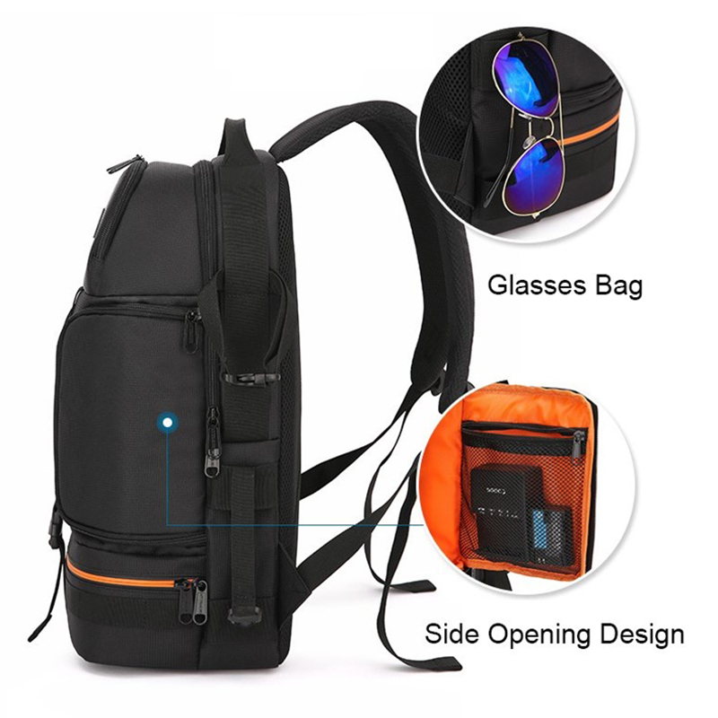 Image 5 - Camera Bag Outdoor Travel SLR Photo Backpack Waterproof Oxford 