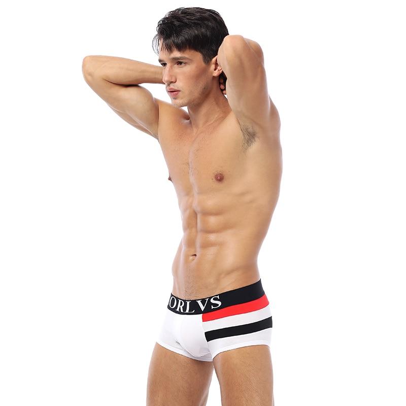 Le Jeune moderne.Sous vêtements-Boxer ORLVS coton à pochette en U-Boxer ORLVS coton à pochette en U. Confortable, avec son tissu anti-bactérie en coton, vous trouverez ce boxer étrangement confortable.