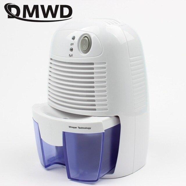 DMWD mini nem giderici, ev nem emici, sessiz bodrum, nem, gardırop kurutma makinesi, nem emici 100 V-240 V