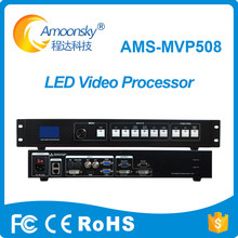 Painel de display led parede de vídeo led uso de vídeo suporte ao processador linsn ts802d novastar msd300