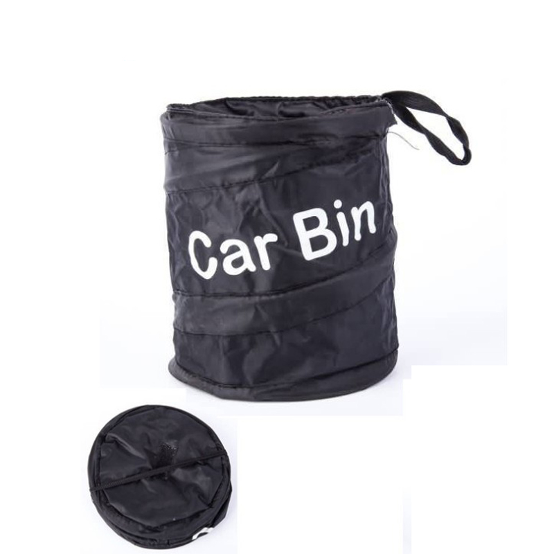 1 Pcs New Wastebasket Trash Can Litter Container Car Auto Garbage Bin / Bag Waste Bins Household Cleaning Tools Accessories