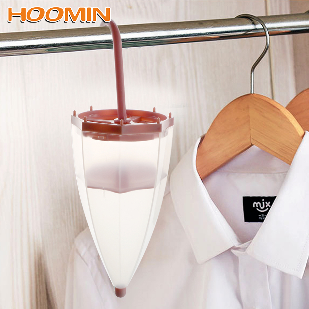 Dehumidifier Bags Moisture Absorber Mildew Proof For Wardrobe Cupboard Umbrella Shaped With Desiccant Hanging Reusable Tool