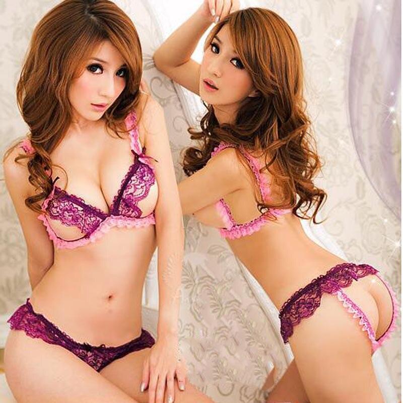 Charm Confusion of The Night Sexy Underwear Sets Sexy Lingerie Women Sexy Underwear Cleavage Bikini Temptation