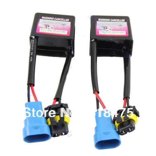 2 pcs c6 hid warning canceller capacitor canbus wiring. Black Bedroom Furniture Sets. Home Design Ideas