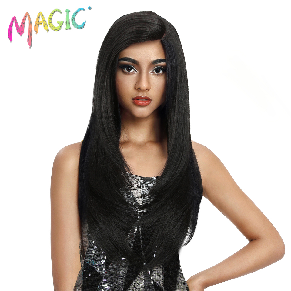 MAGIC Hair Synthetic Wigs Soft Ombre Bob Wig 8-24