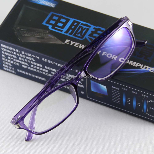 Eyeglasses Women Frame Plano TV Computer Glasses Eyewear Frame UV400 Clear Lens Fashion Goggles Brand Plano Reading Spectacles