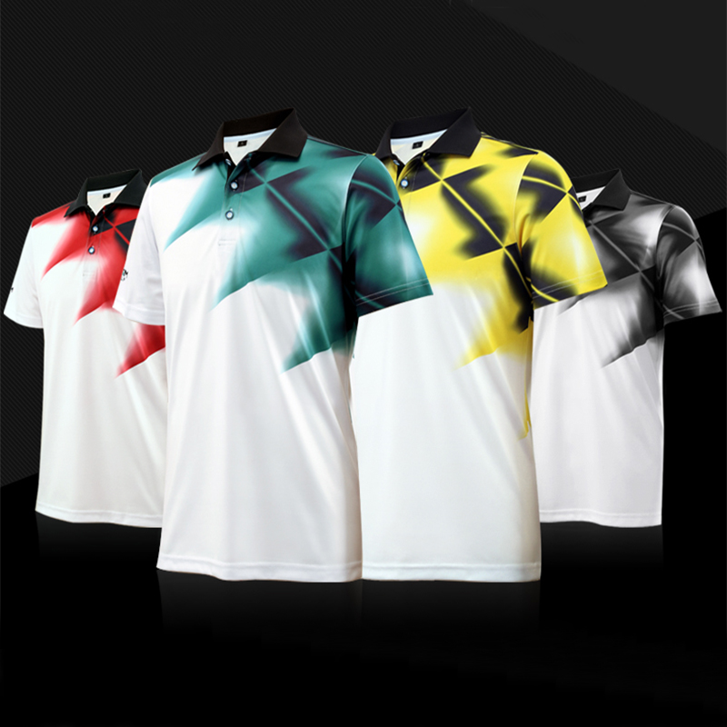 2017 PGM New mens golf shirts summer golf training garment sports shirts short sleeve polo tops outdoor golf wear brand