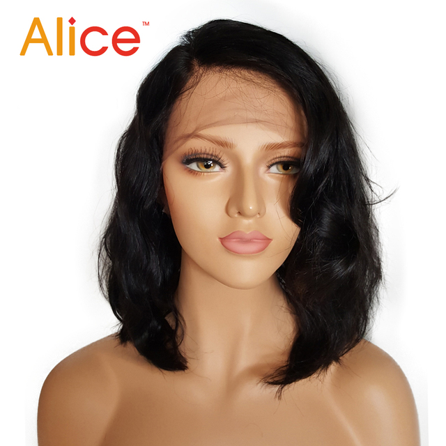 Short Full Lace Human Hair Wigs Brazilian Full Lace Front Wigs Human Hair With Baby Hair Glueless Full Lace Wigs For Black Women