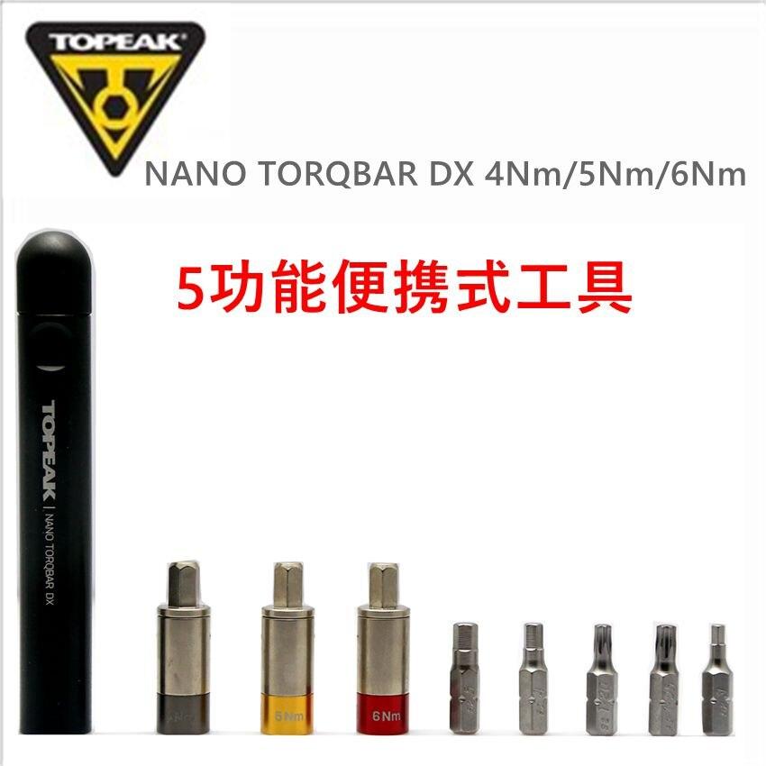 Clé dynamométrique TOPEAK Nano Torqbar DX Werkzeug outil embouts 4 5 6 Nm ensemble TT2570