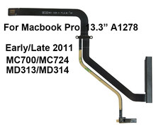 Nuevo HDD Flex para Macbook Pro 13 A1278 Cable de disco duro temprano/tarde 2011 MC700LL/A MC724LL /MD313LL/MD314LL/(China)