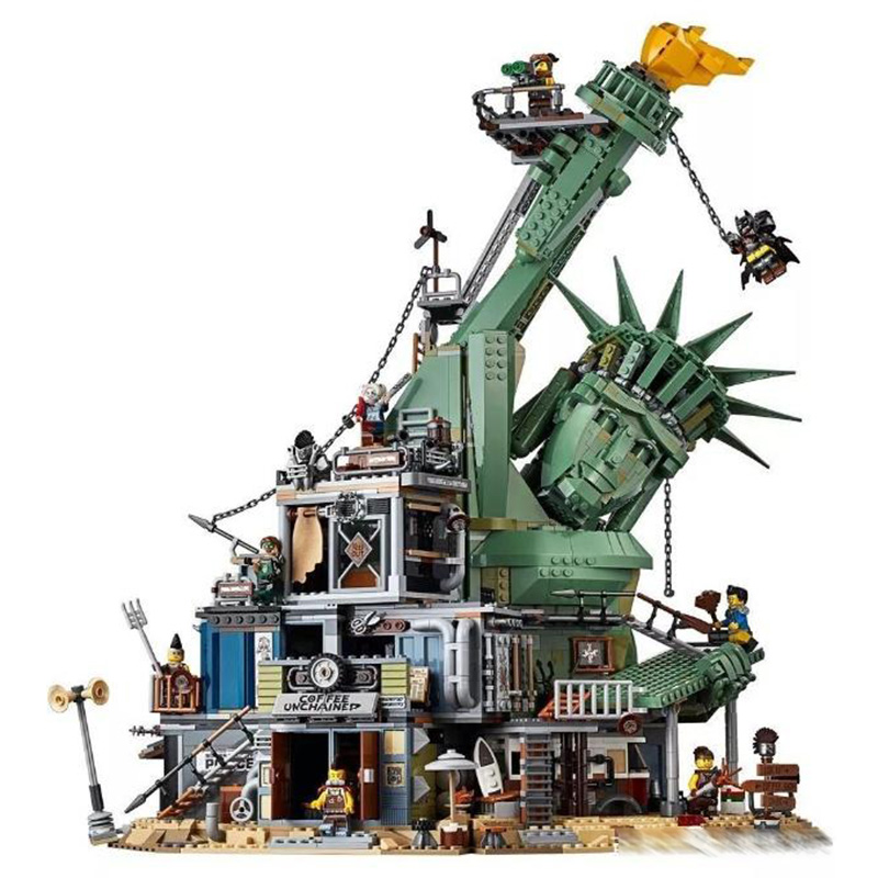 Apocalypseburg Compatible Legoing Movies <font><b>70840</b></font> Model Building Blocks 3178 Piece Bricks Kids Birthday Gifts Toys For Children image