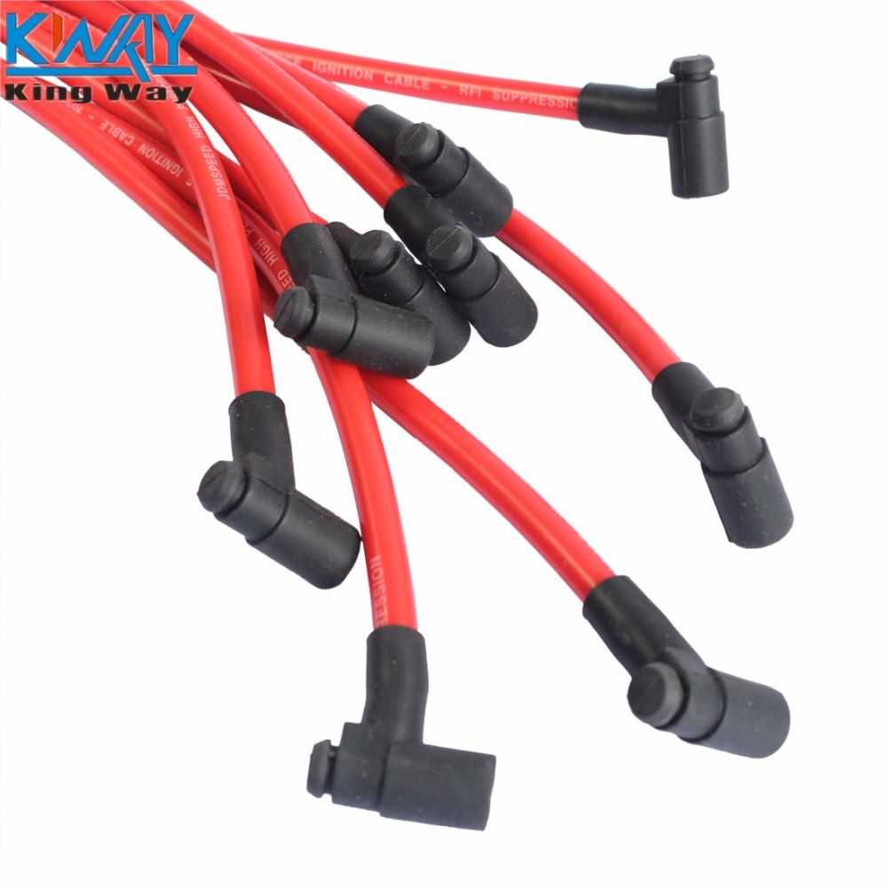 FREE SHIPPING King Way NEW HEI Spark Plug Wires Set 90 to Straight ...