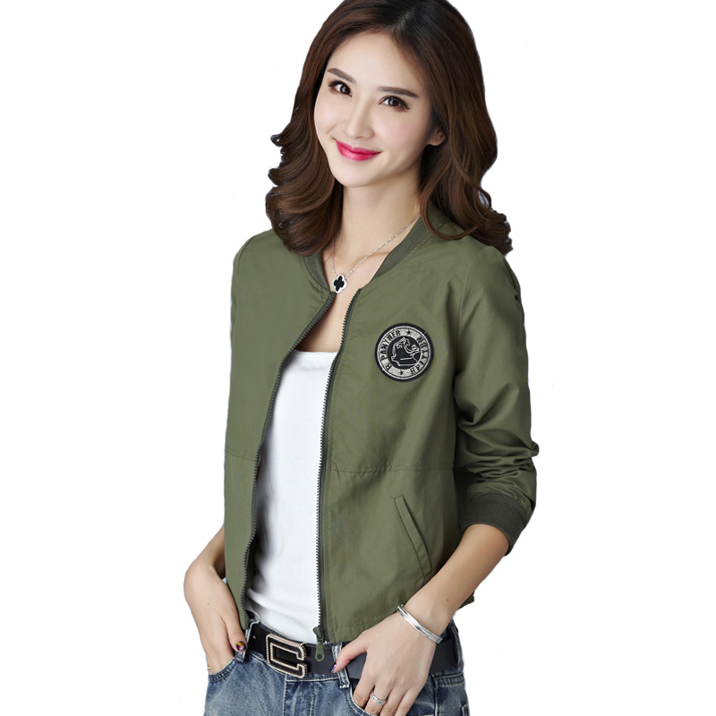 7 Colors Spring Summer Jacket Women Leisure Loose Plus ...