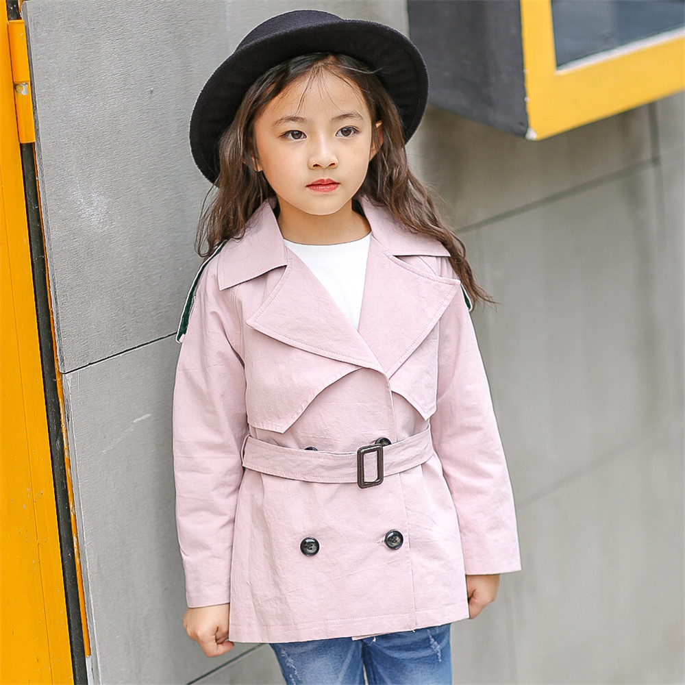 Aliexpress.com : Buy Girls Coats Bow Cotton Pink Black Coat for 4 ...