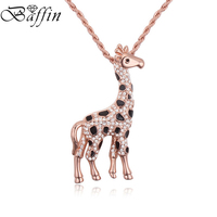 2016 Fashion Jewelry Rose Gold Plated Necklaces Pendants Crystals From Swarovski For Women Party Accessories Mother