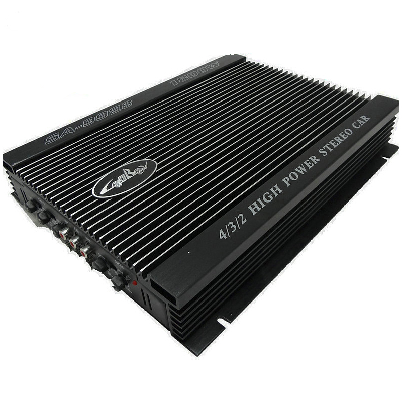 1800W Car Amplifier 4 Channel Car Audio Quad Amplifier 8 Toshiba Tube Push High Power Subwoofer 150w pure tone bass amplifier board high power 12v toshiba 8 12 inch subwoofer core tube vehicle