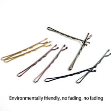 Small Clip Hair Hairpin Korean Version of Latest Black One-word Folder One Containing elegant style Clips