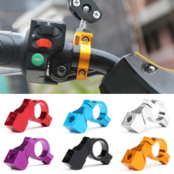Mountain Road MTB Bike Bicycle Rear View Mirror Seat Reflective Safety Flat Cycling Handlebar Holder Rearview Mirror Block