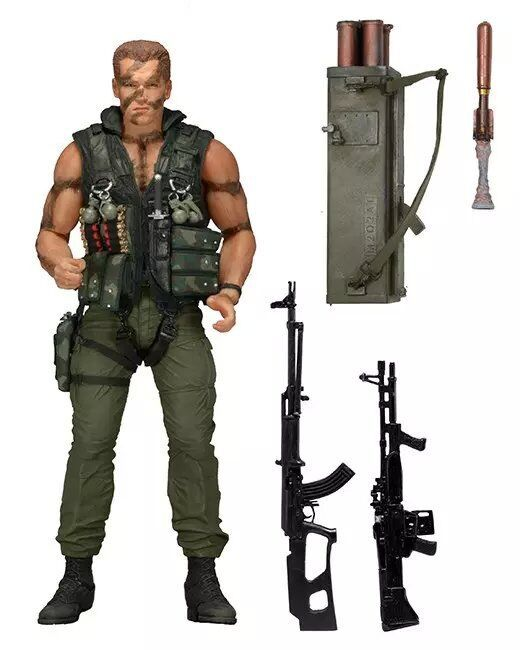 NEW hot 18cm Commando 30th John Matrix action figure toys Christmas gift new hot 18cm one piece rob lucci cp9 action figure toys collection christmas gift doll no box