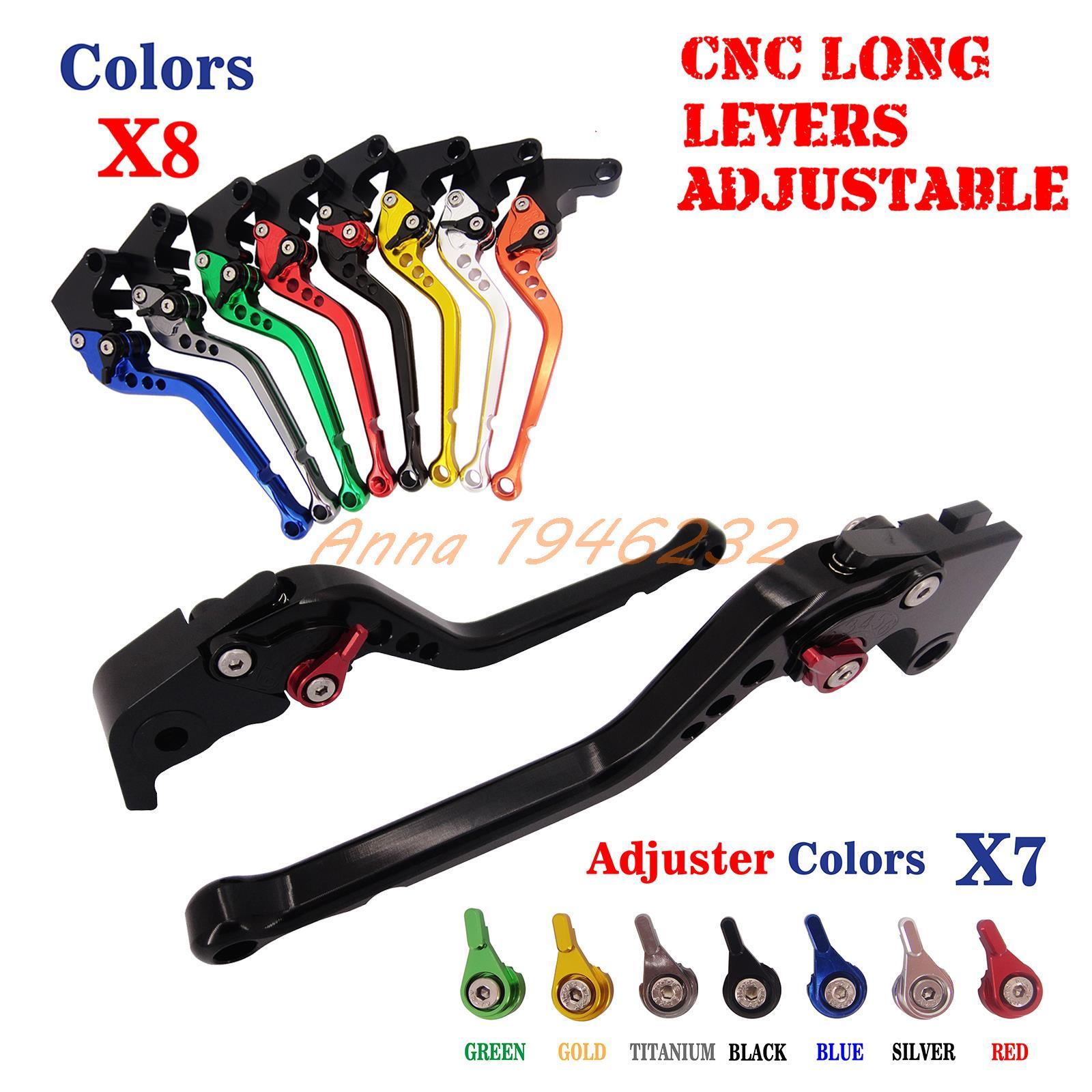 CNC Long Adjustable Brake Clutch Lever For Yamaha XJR400 1993-2007 FZ400 1997 FZS600 Fazer 1998-2003FZS 600 NEW 04 05 06 07 08 09 10 11 12 13 14 new cnc short straight adjustable brake clutch lever for yamaha majesty 400 t max 500 t max 530