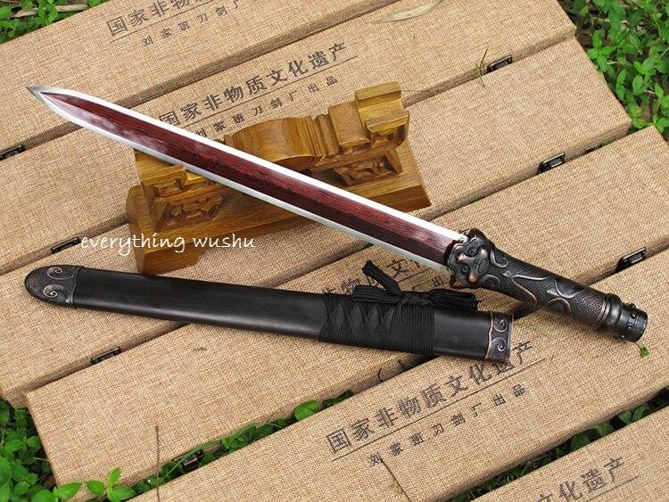 Han Jian Épées Wushu Traditionnel Chinois Épées dans Arts martiaux de Sports et loisirs