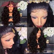 Top Quality 7A Peruvian Virgin Hair Lace Front Wigs Ombre Lace Wigs big loose Wave Glueless Full Lace Human Hair Wigs