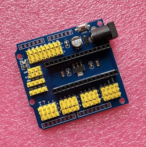 10pcs/lot UNO Shield Nano Shield for NANO 3.0 and UNO R3 shield duemilanove Expansion board 1