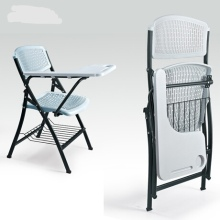 Конференция офисное кресло складной мебели стулья пластик+ сталь конференции стулья Силлас plegables Складная Office кресло-шезлонг