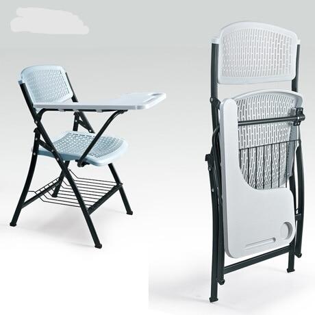 Conferentie Stoel Kantoormeubilair Klapstoelen Plastic + Staal Conferentie Stoelen Sillas Plegables Opvouwbare Bureaustoel Chaise