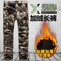 2017 Thickening Tactical Pants Men Military Camouflage Cargo Pants Male Overalls Casual Trousers Men Large Plus Size 6XL 38~40