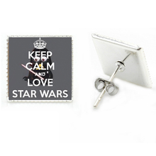 Star Wars Square Earrings
