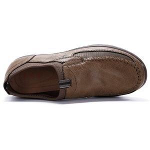 Image 3 - 高級カジュアルシューズ男性ローファー通気性の靴男性大人 sapato masculino プラスサイズ 38 47 chaussure オム