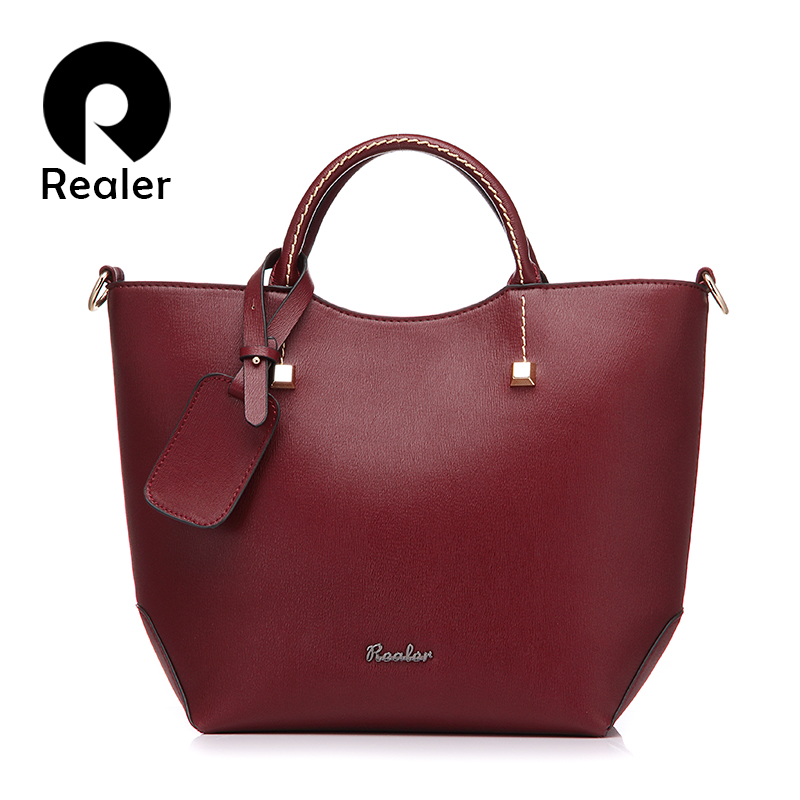 Popular Leather Tote Bag-Buy Cheap Leather Tote Bag lots from ...