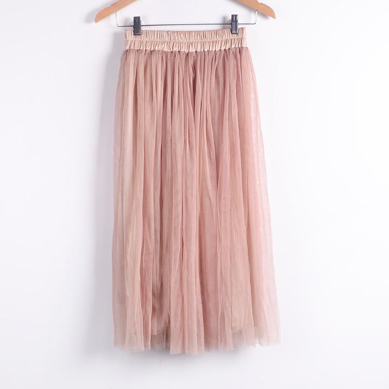Beauty Long Tulle Skater Skirt 8