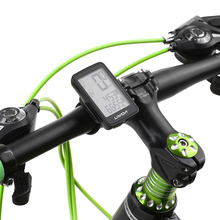 Rainproof Wireless Bicycle Computer With Backlight LCD