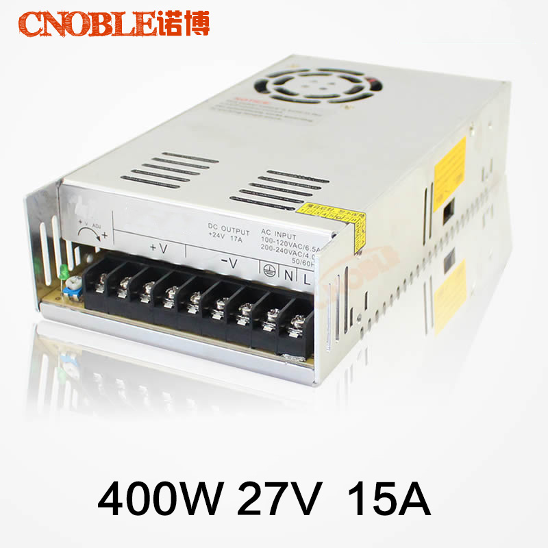 цена на 400W 27V 14.8A Single Output Switching power supply for LED SMPS AC to DC