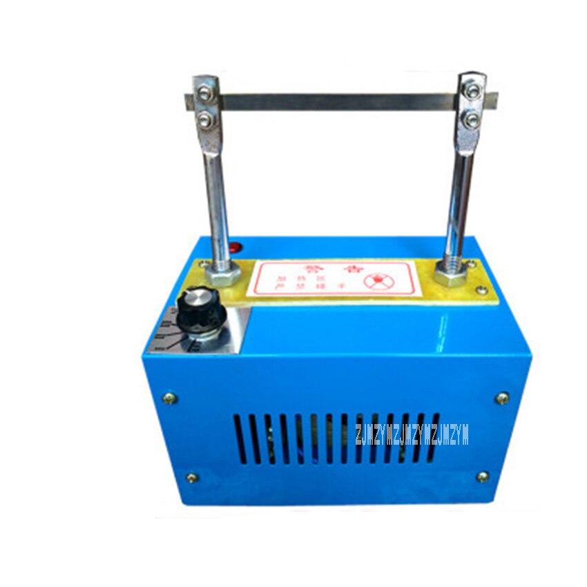 RQ3 Hot Cutting Machine Hgh-quality 4 Files Temperature Adjustment Trademark Ribbon Cutting Machine 220V 100W, Up to 900 Degrees gold quality ce standard 900 600mm felt cutting machine
