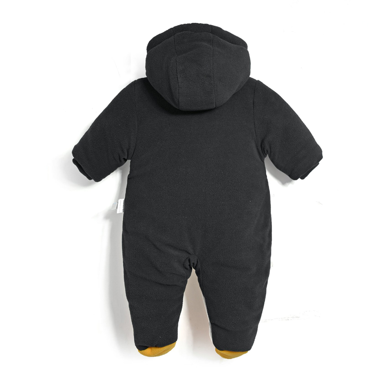 New 2016 Autumn Winter Warm Baby Rompers Newborns Boy Clothes Bebes Cartoon Penguin Thick Cotton Jumpsuits Infant Overalls newborn baby girls rompers cotton padded thick winter clothing set cartoon bear infant climb hooded clothes babies boy jumpsuits