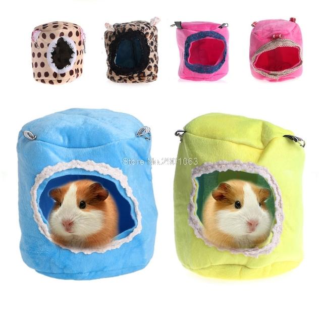 Ferret Hamster Rabbit Rat Parrot Squirrel Hammock Hanging Bed House Cage Toy #H071221#